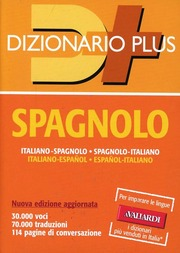 Dizionario spagnolo plus
