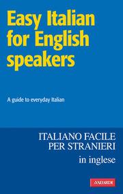 (epub) Easy Italian for English speakers / Italiano facile. In inglese