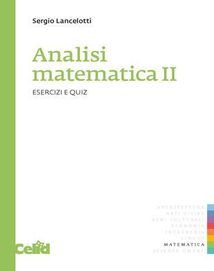copertina Analisi matematica 2. Esercizi e quiz