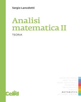 copertina Analisi matematica 2. Teoria
