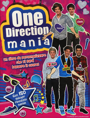 copertina One Direction mania