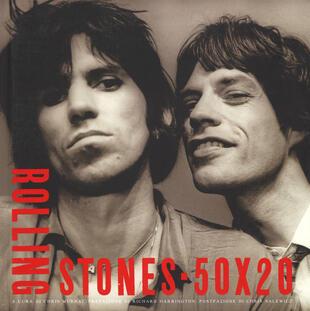 copertina Rolling Stones 50 x 20. Ediz. illustrata