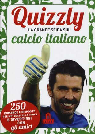 copertina Quizzly. La grande sfida sul calcio italiano. Carte