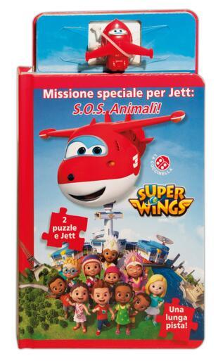 copertina Super Wings. Una missione speciale per Jett