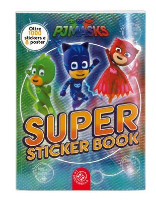 copertina Super Sticker Book