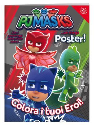copertina Colora i tuoi eroi -con Poster