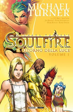 copertina Soulfire. Vol. 1: Il ritorno della luce