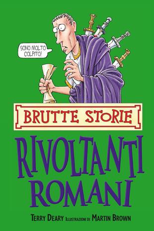 copertina Rivoltanti romani