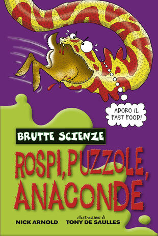 copertina Rospi, puzzole, anaconde