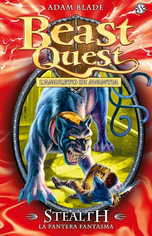 copertina Beast Quest 24. Stealth. La Pantera Fantasma