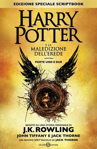 copertina Harry Potter e la Maledizione dell'Erede