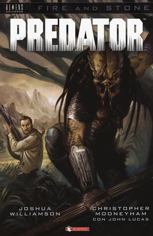 copertina Predator. Fire and stone
