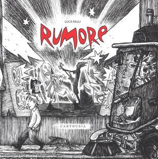 copertina Rumore. Ediz. illustrata