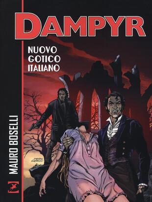 copertina Nuovo gotico italiano. Dampyr