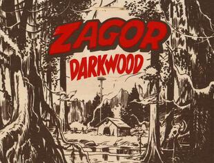 copertina Zagor. King of Darkwood. Con gadget. Con Poster