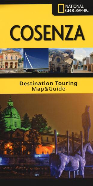 copertina Cosenza. Pianta di città e guida turistica. 1:15.000