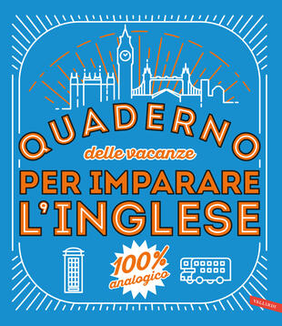copertina Quaderno delle vacanze per imparare l'inglese