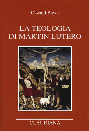 copertina La teologia di Martin Lutero