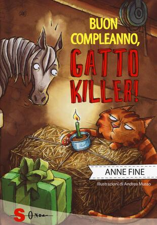 copertina Buon compleanno, gatto killer!
