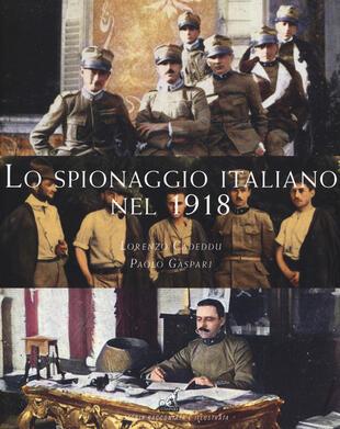 copertina Lo spionaggio italiano nel 1918