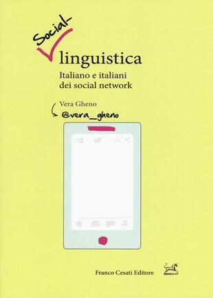 copertina Social-linguistica. Italiano e italiani dei social network