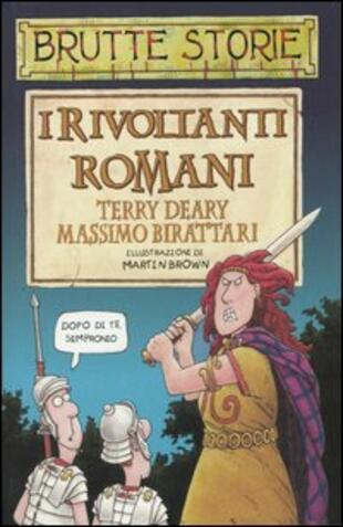 copertina I rivoltanti romani