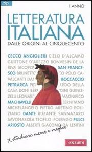 Letteratura italiana. Dalle origini al Cinquecento