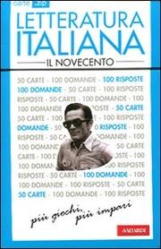 Carte .zip Letteratura italiana il Novecento