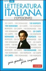 Carte .zip Letteratura italiana l'Ottocento