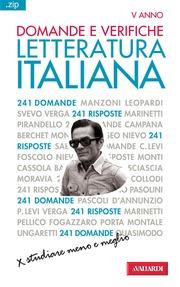 (pdf) Domande e verifiche di Letteratura Italiana