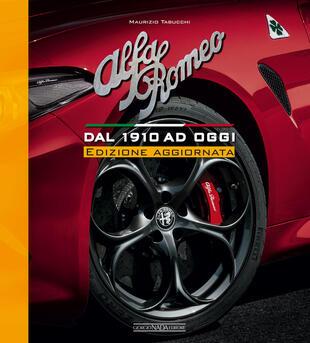 copertina Alfa Romeo. Dal 1910 ad oggi