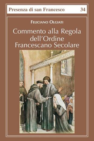 copertina Commento alla regola dell'Ordine francescano secolare