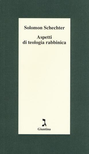 copertina Aspetti di teologia rabbinica