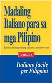 Italiano facile. In  filippino