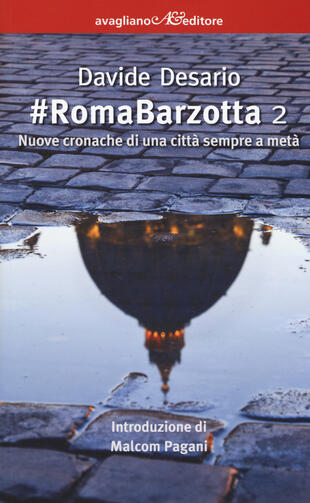 copertina #RomaBarzotta 2. Nuove cronache di una città sempre a metà