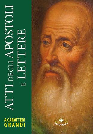 copertina Atti degli Apostoli e lettere