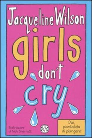 copertina Girls don't cry