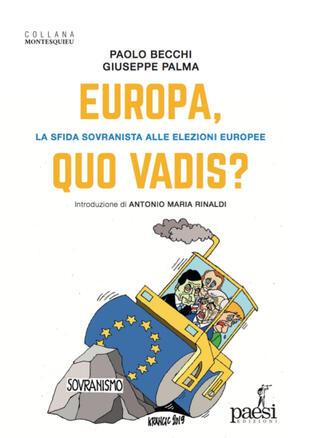 copertina Europa, quo vadis? La sfida sovranista alle elezioni europee