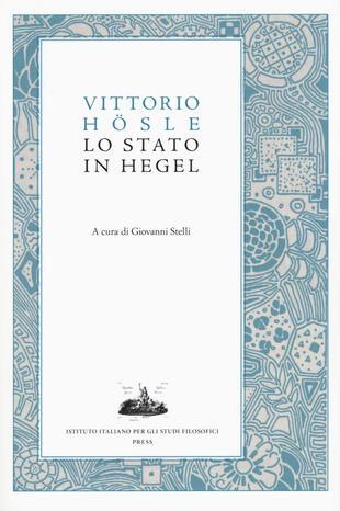 copertina Lo stato in Hegel
