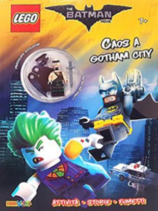 copertina Lego Batman. Chaos a Gotham City