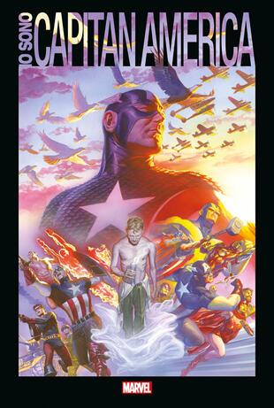 copertina Io sono Capitan America
