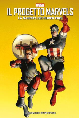 copertina La nascita dei supereroi. Il progetto Marvels