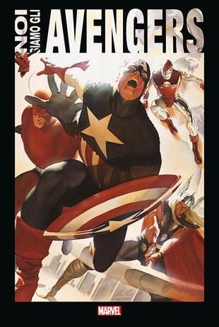 copertina Noi siamo gli Avengers