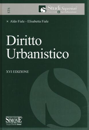 copertina Diritto urbanistico