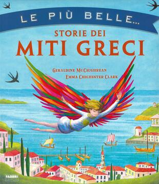 copertina Le più belle storie dei miti greci