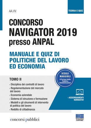 copertina Concorso Navigator 2019 presso ANPAL