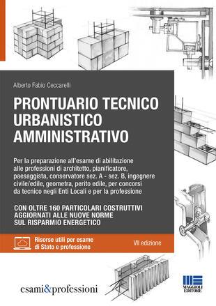 copertina Prontuario tecnico urbanistico amministrativo