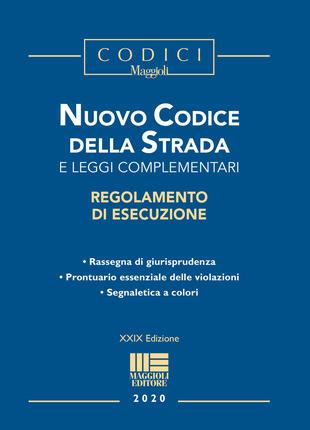 copertina Nuovo codice della strada e leggi complementari