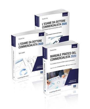 copertina Kit esame da commercialista: Manuale-Temi svolti-Terza prova scritta. Vol. 20