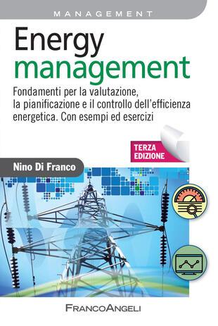 copertina Energy management. Fondamenti per la valutazione, la pianificazione e il controllo dell'efficienza energetica. Con esempi ed esercizi